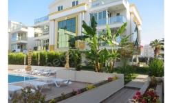 Antalya lara güzeloba da y.havuzlu güvenlikli süper ters dubleks